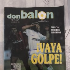 Collectionnisme sportif: FÚTBOL DON BALÓN 734 - COPAS EUROPEAS - FUTRE - R. MADRID - OSASUNA - RAMÓN SEVILLA - BARÇA. Lote 220589276
