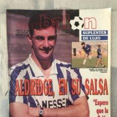Coleccionismo deportivo: FÚTBOL DON BALÓN 729 - POSTER CHENDO - R. SOCIEDAD - COPAS EUROPEAS - ATLÉTICO - BARÇA - MADRID. Lote 220631140
