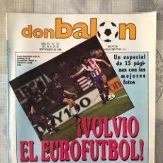Coleccionismo deportivo: FÚTBOL DON BALÓN 727 - POSTER ABEL - SEVILLA - BARÇA - COPAS EUROPEAS - YUGOSLAVIA - MÁGICO CÁDIZ. Lote 220715553