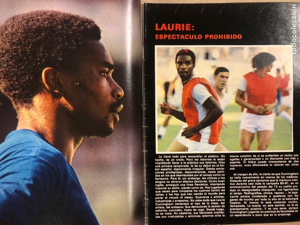 Coleccionismo deportivo: DON BALÓN N° 311 (1981). CUNNINGHAM, IDIGORAS, QUINI, SELECCIÓN ESPAÑOLA JUVENIL,... - Foto 2 - 220754978