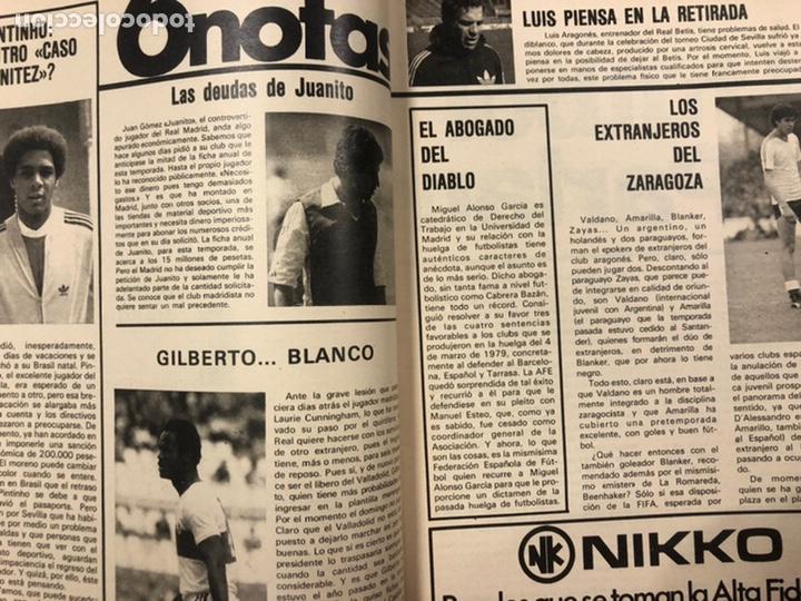 Coleccionismo deportivo: DON BALÓN N° 311 (1981). CUNNINGHAM, IDIGORAS, QUINI, SELECCIÓN ESPAÑOLA JUVENIL,... - Foto 3 - 220754978