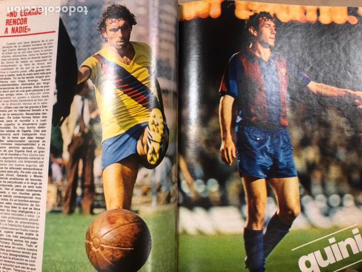 Coleccionismo deportivo: DON BALÓN N° 311 (1981). CUNNINGHAM, IDIGORAS, QUINI, SELECCIÓN ESPAÑOLA JUVENIL,... - Foto 6 - 220754978