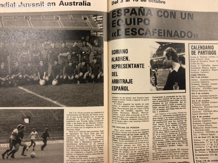 Coleccionismo deportivo: DON BALÓN N° 311 (1981). CUNNINGHAM, IDIGORAS, QUINI, SELECCIÓN ESPAÑOLA JUVENIL,... - Foto 8 - 220754978