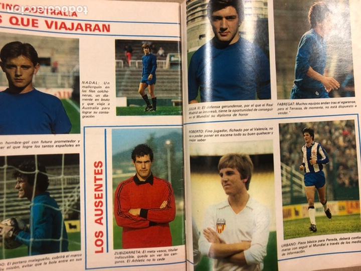 Coleccionismo deportivo: DON BALÓN N° 311 (1981). CUNNINGHAM, IDIGORAS, QUINI, SELECCIÓN ESPAÑOLA JUVENIL,... - Foto 9 - 220754978