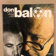 Coleccionismo deportivo: DON BALÓN N° 311 (1981). CUNNINGHAM, IDIGORAS, QUINI, SELECCIÓN ESPAÑOLA JUVENIL,.... Lote 220754978