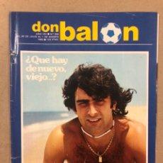 Coleccionismo deportivo: DON BALÓN N° 355 (1982). KEMPES, MARADONA, YÁÑEZ, STIELIKE, RESACA MUNDIAL '82,.... Lote 220755280