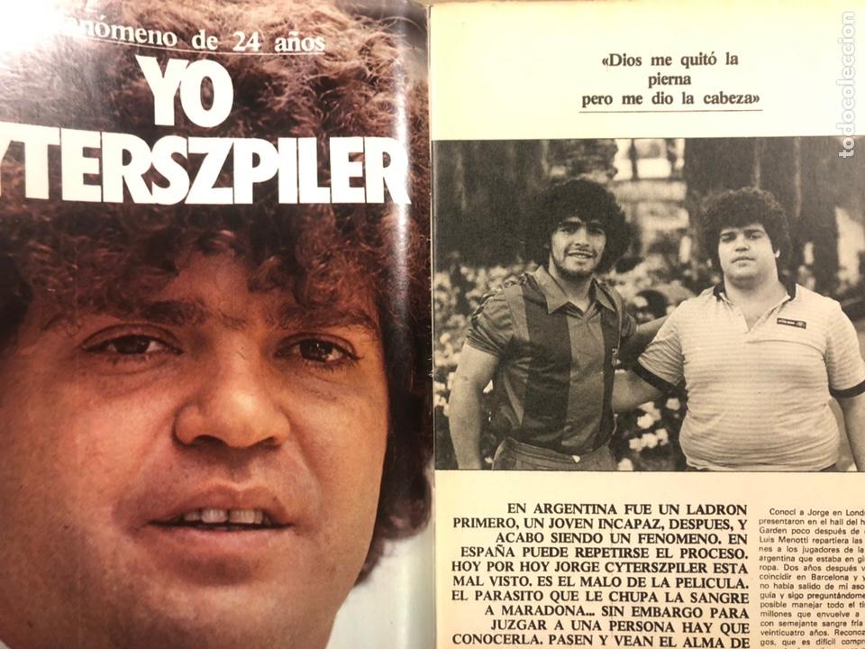 Coleccionismo deportivo: DON BALÓN N° 357 (1982). CYTERSZPILER MARADONA, EL NUEVO REAL MADRID, ADELARDO,... - Foto 2 - 220755641