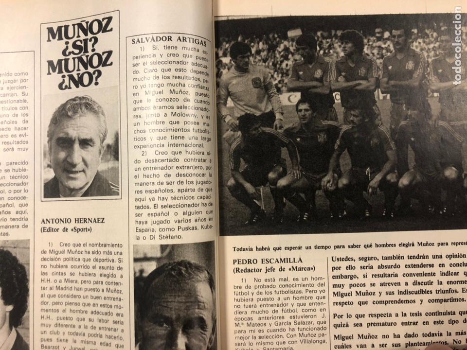Coleccionismo deportivo: DON BALÓN N° 357 (1982). CYTERSZPILER MARADONA, EL NUEVO REAL MADRID, ADELARDO,... - Foto 5 - 220755641