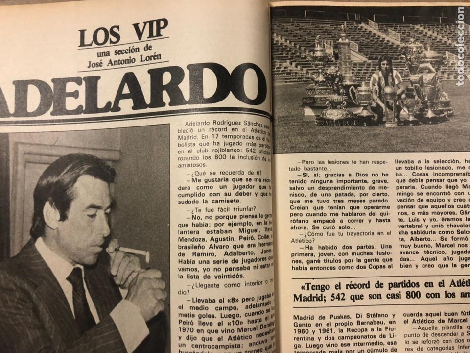 Coleccionismo deportivo: DON BALÓN N° 357 (1982). CYTERSZPILER MARADONA, EL NUEVO REAL MADRID, ADELARDO,... - Foto 6 - 220755641