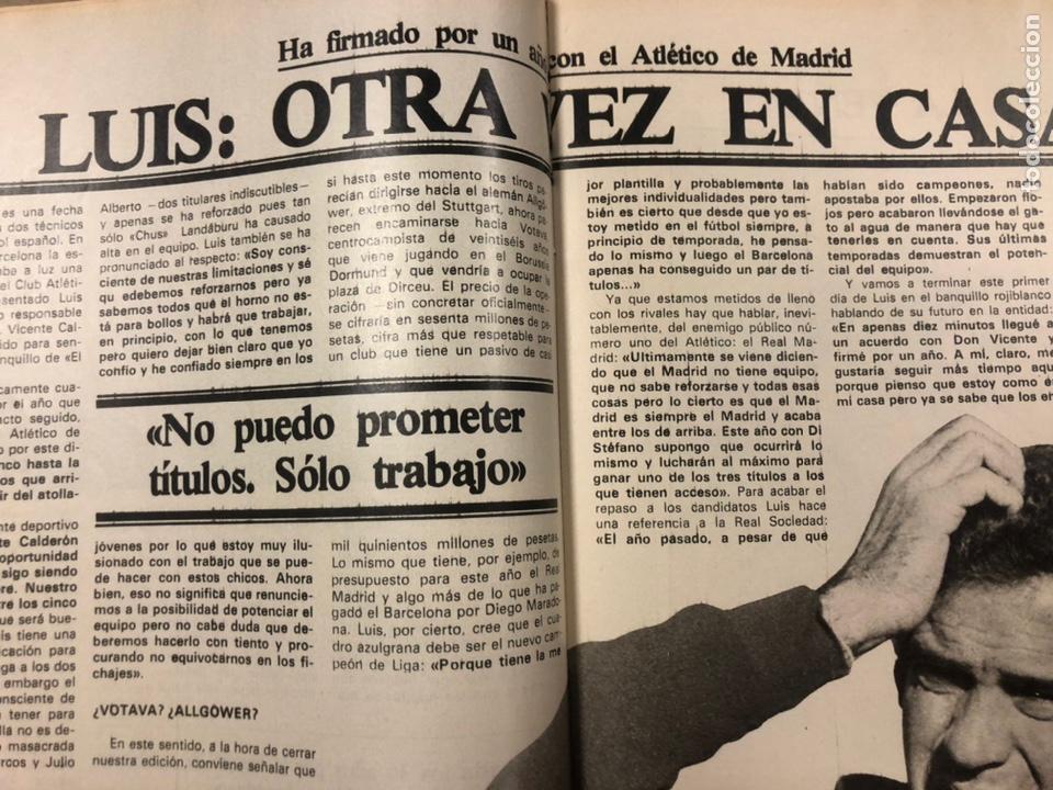 Coleccionismo deportivo: DON BALÓN N° 357 (1982). CYTERSZPILER MARADONA, EL NUEVO REAL MADRID, ADELARDO,... - Foto 7 - 220755641