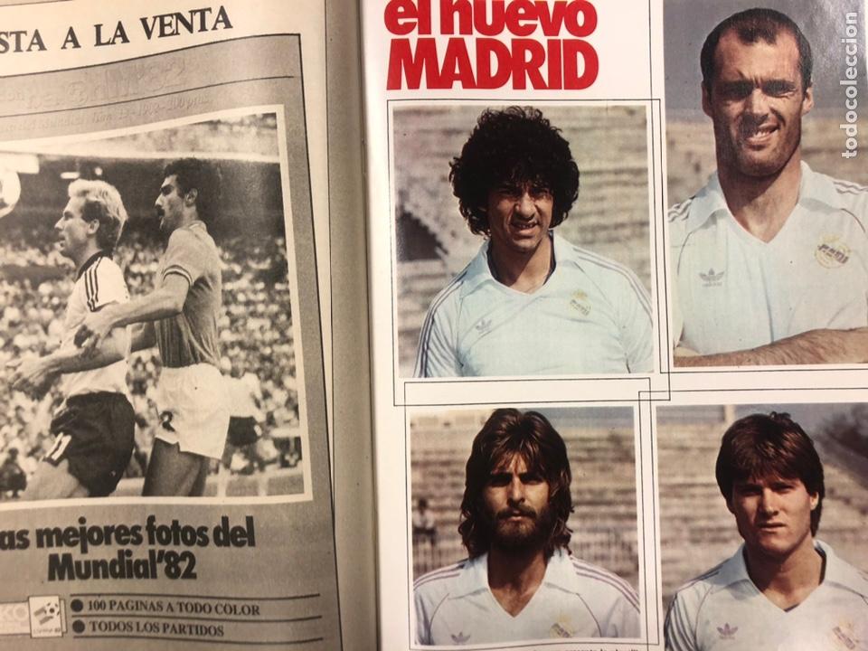 Coleccionismo deportivo: DON BALÓN N° 357 (1982). CYTERSZPILER MARADONA, EL NUEVO REAL MADRID, ADELARDO,... - Foto 8 - 220755641