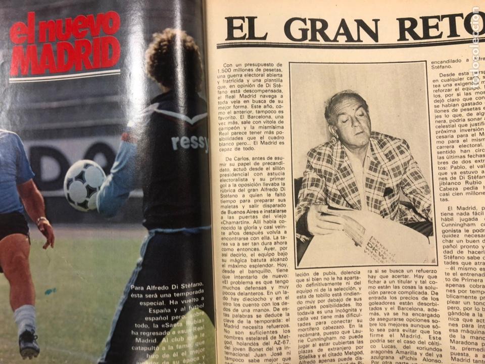 Coleccionismo deportivo: DON BALÓN N° 357 (1982). CYTERSZPILER MARADONA, EL NUEVO REAL MADRID, ADELARDO,... - Foto 10 - 220755641