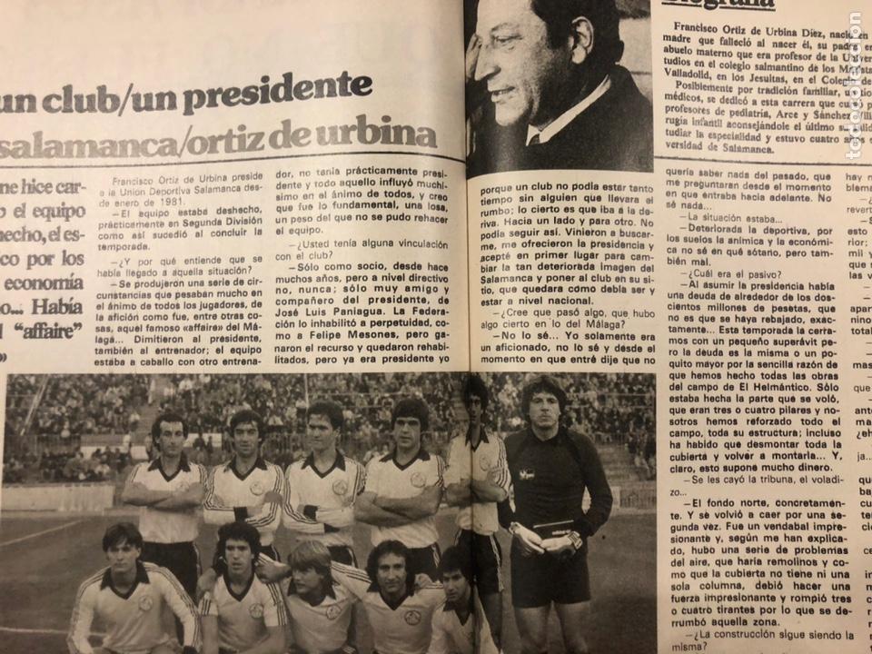 Coleccionismo deportivo: DON BALÓN N° 357 (1982). CYTERSZPILER MARADONA, EL NUEVO REAL MADRID, ADELARDO,... - Foto 11 - 220755641