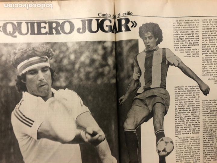 Coleccionismo deportivo: DON BALÓN N° 357 (1982). CYTERSZPILER MARADONA, EL NUEVO REAL MADRID, ADELARDO,... - Foto 12 - 220755641