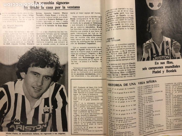 Coleccionismo deportivo: DON BALÓN N° 357 (1982). CYTERSZPILER MARADONA, EL NUEVO REAL MADRID, ADELARDO,... - Foto 13 - 220755641