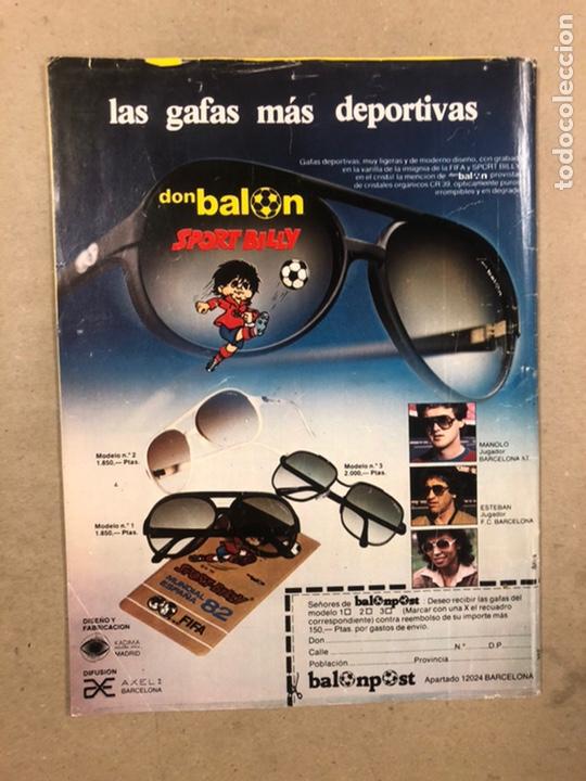 Coleccionismo deportivo: DON BALÓN N° 357 (1982). CYTERSZPILER MARADONA, EL NUEVO REAL MADRID, ADELARDO,... - Foto 14 - 220755641