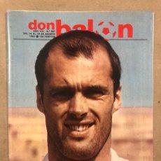 Coleccionismo deportivo: DON BALÓN N° 357 (1982). CYTERSZPILER MARADONA, EL NUEVO REAL MADRID, ADELARDO,.... Lote 220755641
