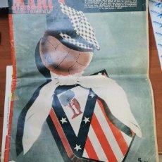 Coleccionismo deportivo: ANTIGUO MARCA ATLETICO DE MADRID BODAS DE ORO 1953 TOTALMENTE ORIGINAL. Lote 220778495