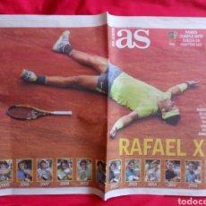 Coleccionismo deportivo: AS RAFA NADAL TITULO 12 ROLAND GARROS 2019. Lote 220812588