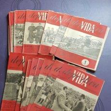 Coleccionismo deportivo: PRECIO POR UNIDAD. PERIÓDICOS VIDA DEPORTIVA, SEMANARIO ILUSTRADO DE INFORMACIÓN, AÑO 1945. Lote 220855291