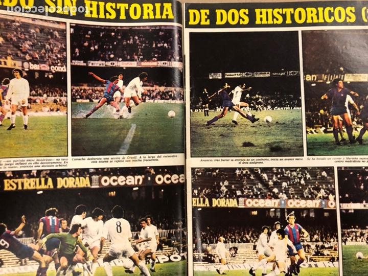 Coleccionismo deportivo: AS COLOR N° 208 (1975). BARCELONA VS REAL MADRID, FÚTBOL FEMENINO, COLLAR, MAGUREGUI, SANTI,... - Foto 3 - 220943057