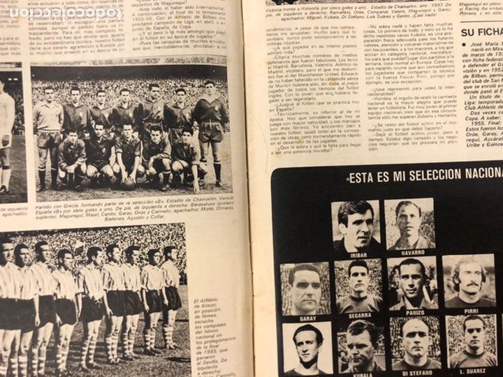 Coleccionismo deportivo: AS COLOR N° 208 (1975). BARCELONA VS REAL MADRID, FÚTBOL FEMENINO, COLLAR, MAGUREGUI, SANTI,... - Foto 6 - 220943057