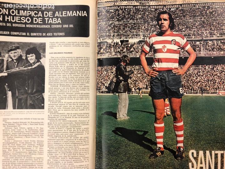 Coleccionismo deportivo: AS COLOR N° 208 (1975). BARCELONA VS REAL MADRID, FÚTBOL FEMENINO, COLLAR, MAGUREGUI, SANTI,... - Foto 7 - 220943057