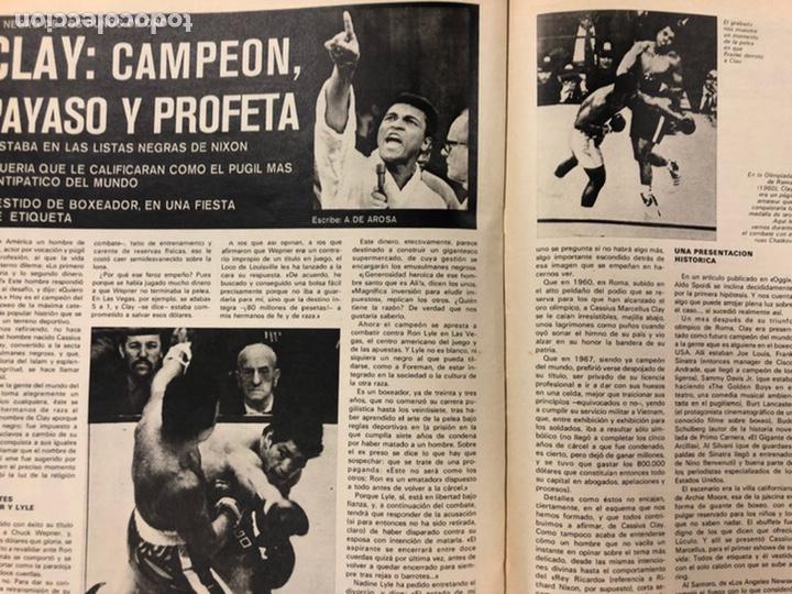 Coleccionismo deportivo: AS COLOR N° 208 (1975). BARCELONA VS REAL MADRID, FÚTBOL FEMENINO, COLLAR, MAGUREGUI, SANTI,... - Foto 8 - 220943057