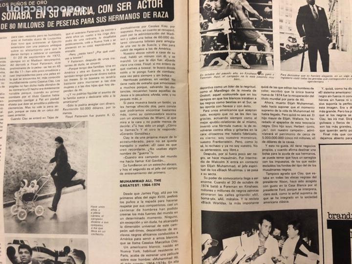 Coleccionismo deportivo: AS COLOR N° 208 (1975). BARCELONA VS REAL MADRID, FÚTBOL FEMENINO, COLLAR, MAGUREGUI, SANTI,... - Foto 9 - 220943057