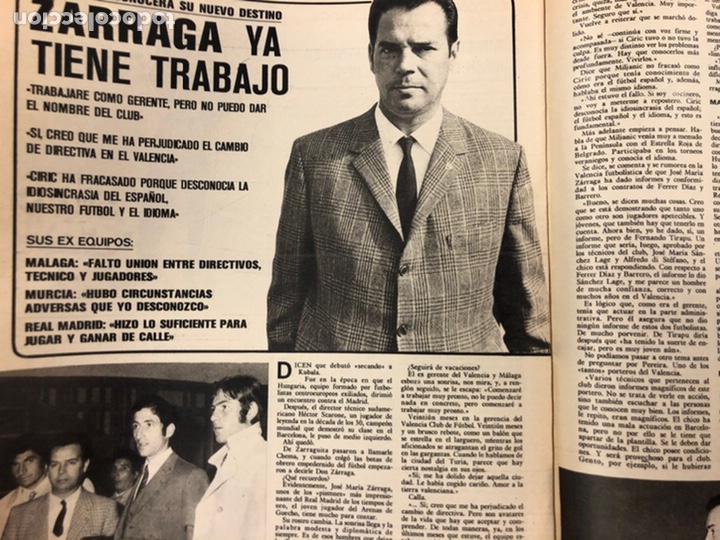 Coleccionismo deportivo: AS COLOR N° 208 (1975). BARCELONA VS REAL MADRID, FÚTBOL FEMENINO, COLLAR, MAGUREGUI, SANTI,... - Foto 11 - 220943057