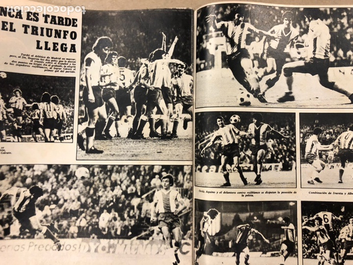 Coleccionismo deportivo: AS COLOR N° 208 (1975). BARCELONA VS REAL MADRID, FÚTBOL FEMENINO, COLLAR, MAGUREGUI, SANTI,... - Foto 12 - 220943057