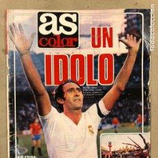 Collectionnisme sportif: AS COLOR N° 522 (1981). PIRRI, ATLÉTICO MADRID, SALÓN DEL AUTOMÓVIL DE BARCELONA,.... Lote 220948158