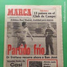 Collectionnisme sportif: DIARIO MARCA 1984 REAL MADRID ATLETICO COPA LIGA 84 - PICHICHI JUANITO - FERNANDO SEVILLA. Lote 221101430