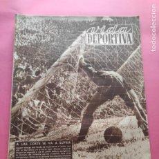 Coleccionismo deportivo: VIDA DEPORTIVA Nº 194 1949 SEMIFINALES COPA 48/49 ESPANYOL-ATHLETIC VALENCIA-BARÇA - MARIANO CAÑARDO. Lote 221251608