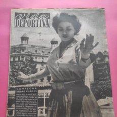 Coleccionismo deportivo: VIDA DEPORTIVA Nº 196 1949 BARÇA-TOULUSSE - RIVER PLATE-TORINO - BADALONA - DAUPHINE LIBERE. Lote 221254258
