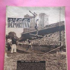 Coleccionismo deportivo: VIDA DEPORTIVA Nº 203 1949 COPPI TOUR FRANCIA 49 - MARIANO MARTIN SANT ANDREU. Lote 221256270