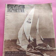 Coleccionismo deportivo: VIDA DEPORTIVA Nº 204 1949 FICHAJES LIGA 49/50 - HOCKEY - CICLISMO BARTALI COPPI. Lote 221256473