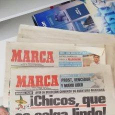 Coleccionismo deportivo: MUNDIAL MEXICO 1986. DIARIO MARCA. COMIENZA LA ANDADURA...EL MUNDIAL DE MARADONA. Lote 221276601