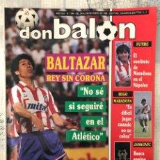 Coleccionismo deportivo: FÚTBOL DON BALÓN 744 - POSTER MILLA - RAYO - FUTRE - CELTA - RINCON - SANT ANDREU BALTAZAR ATLÉTICO. Lote 221333942