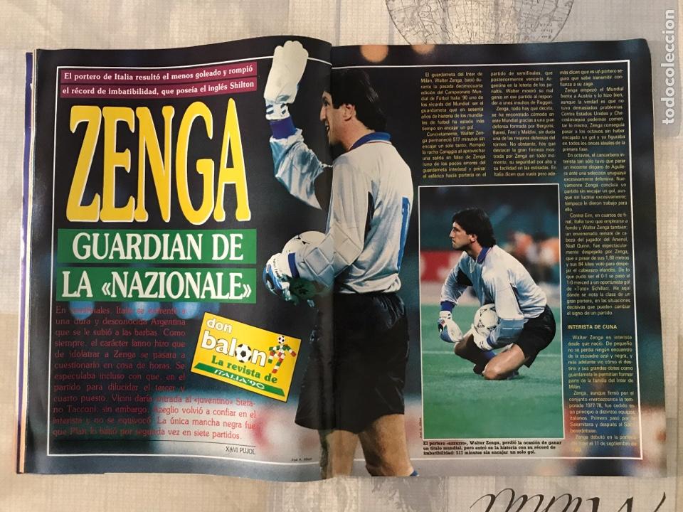 Coleccionismo deportivo: Fútbol don balón 769 - Poster Matthaus - Italia 90 - Zenga - Camerún - Tomas Atlético - Salinas - Foto 5 - 221334525