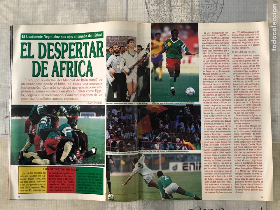 Coleccionismo deportivo: Fútbol don balón 769 - Poster Matthaus - Italia 90 - Zenga - Camerún - Tomas Atlético - Salinas - Foto 6 - 221334525