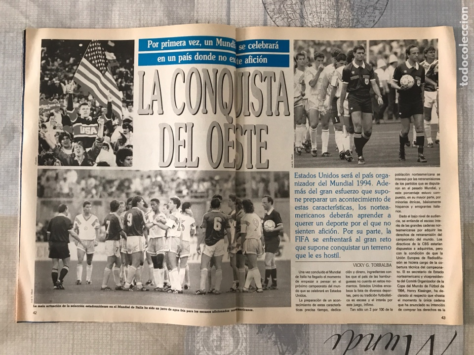 Coleccionismo deportivo: Fútbol don balón 769 - Poster Matthaus - Italia 90 - Zenga - Camerún - Tomas Atlético - Salinas - Foto 7 - 221334525