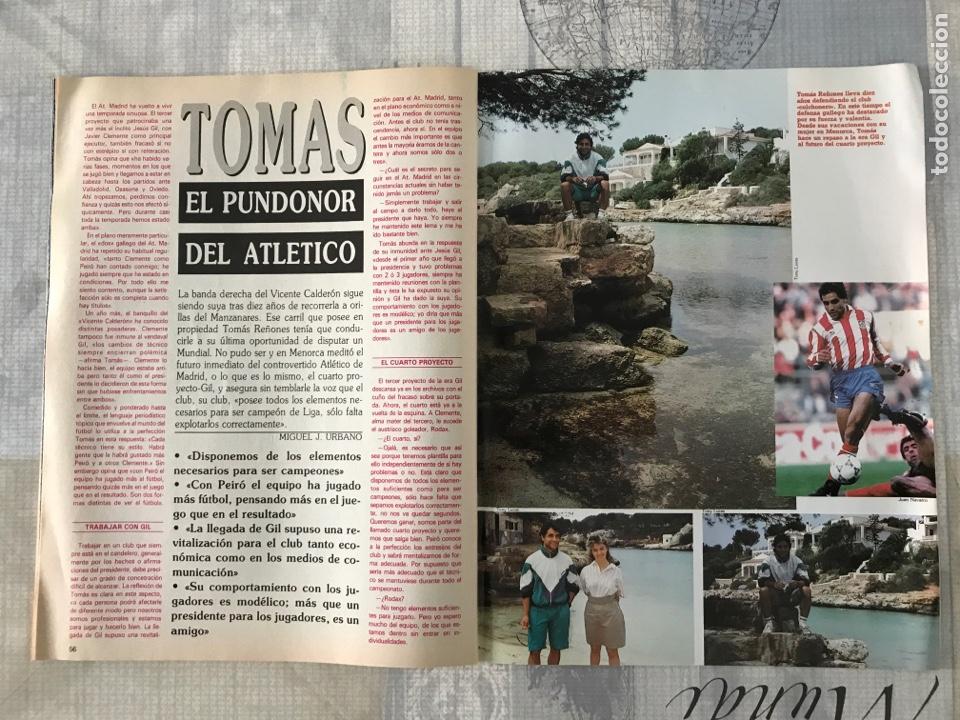 Coleccionismo deportivo: Fútbol don balón 769 - Poster Matthaus - Italia 90 - Zenga - Camerún - Tomas Atlético - Salinas - Foto 9 - 221334525
