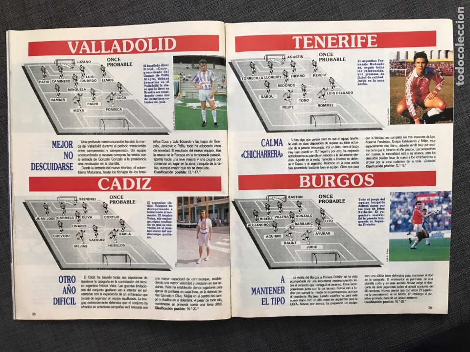 Coleccionismo deportivo: Fútbol don balón 776 - Poster Richardson - Butragueño - Italia Goiko Zamorano Atlético Valladolid - Foto 4 - 221360616