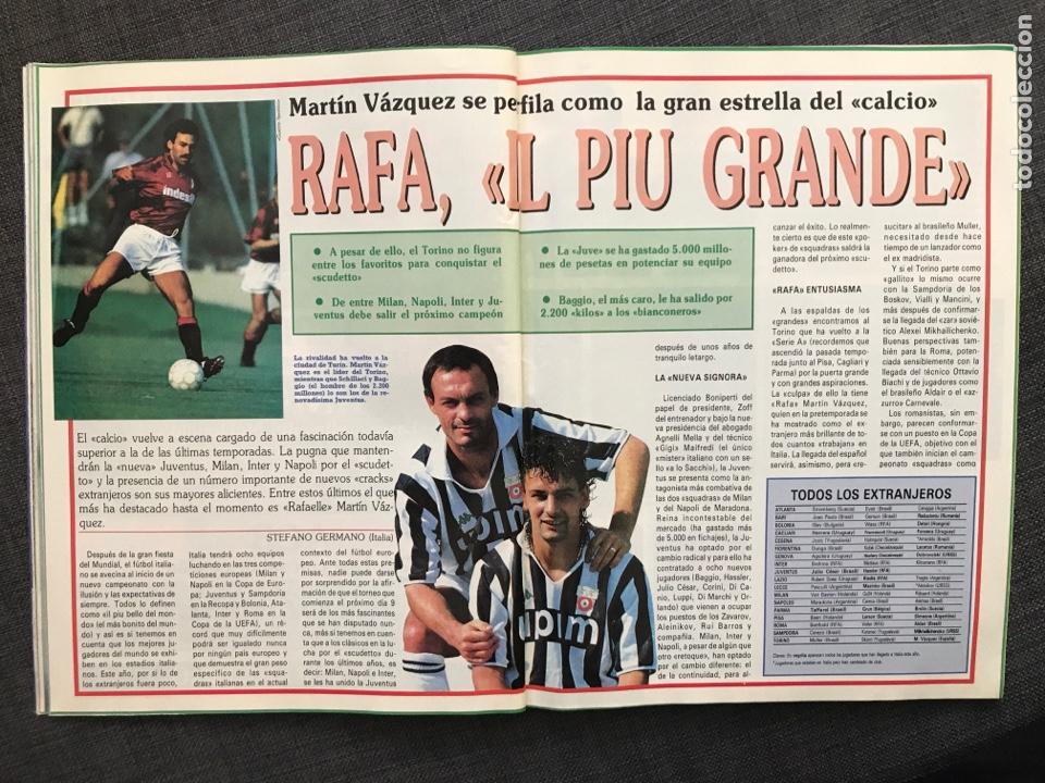 Coleccionismo deportivo: Fútbol don balón 776 - Poster Richardson - Butragueño - Italia Goiko Zamorano Atlético Valladolid - Foto 6 - 221360616