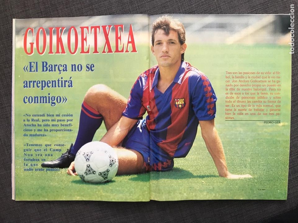 Coleccionismo deportivo: Fútbol don balón 776 - Poster Richardson - Butragueño - Italia Goiko Zamorano Atlético Valladolid - Foto 7 - 221360616