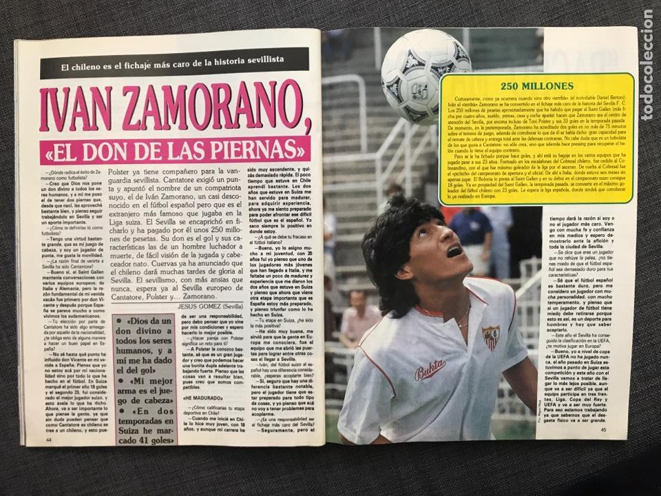 Coleccionismo deportivo: Fútbol don balón 776 - Poster Richardson - Butragueño - Italia Goiko Zamorano Atlético Valladolid - Foto 8 - 221360616