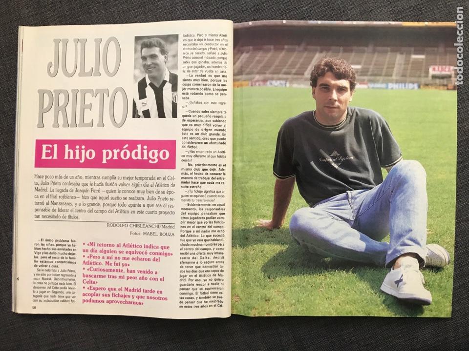 Coleccionismo deportivo: Fútbol don balón 776 - Poster Richardson - Butragueño - Italia Goiko Zamorano Atlético Valladolid - Foto 9 - 221360616
