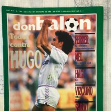 Coleccionismo deportivo: FÚTBOL DON BALÓN 780 - POSTER HAGI - H. SANCHEZ - BETIS - BRASIL - URSS - FERRER - VIZCAÍNO - BARÇA. Lote 221439656