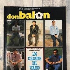 Coleccionismo deportivo: FÚTBOL DON BALÓN 668 - POSTER VALLADOLID/SEVILLA - ATLÉTICO - MURCIA - N'KONO TENERIFE LAS PALMAS. Lote 221447095